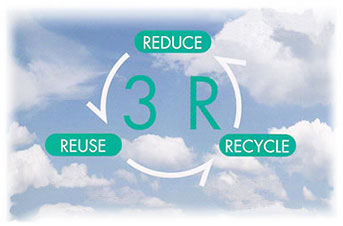 3R - REDUCE REUSE RECYCLE strategy (Daiwa)
