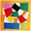 Henri Matisse (1869-1954): L'Escargot (the snail, spiral), 1953