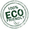 100% ECO FRIENDLY (classic stamp)
