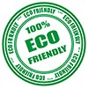 100% ECO FRIENDLY (stock stamp)