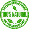 100 proc. natural - No Preservarives