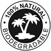 100% NATURAL BIODEGRADABLE