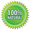100% natural (star-seal)