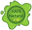 100% Natural (wax seal)