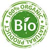 100% ORGANIC NATURAL PRODUCT (stock stamp)