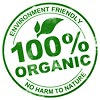 100% ORGANIC - NO HARM TO NATURE