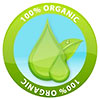 100% ORGANIC [2x] (green drop, stock)