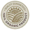 100% ORGANIC PRODUCT - QUALITY GUARANTEED (stock seal)
