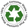 100% Post Consumer Waste (US)