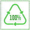 100% recycled (BuschSystems, NA)