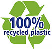 100% recycled plastic (NL)