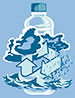second nature (water cycle, bottle, T-shirt, US)
