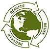 3R (REDUCE REUSE RECYCLE) around Earth