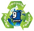 recycle reuse reduce - goodwill (US)