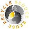 RECYCLE REDUCE REUSE (pastel global vision)