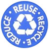 3R recycle bin (stamp style, US)