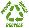 3R + recycling strip