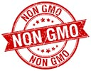 NON GMO (3x, stock red stamp)