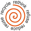 sustainable_clothing: retink refuse reduce reuse recycle - 5R