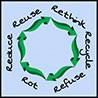 Reduce Reuse Rethink Recycle Rot Refuse - 6R (Vermont, US)
