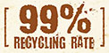 accu: 99% recycling rate