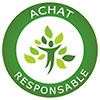 ACHAT RESPONSABLE - reforest action badge (FR)