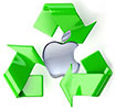 Apple start recycling in 1994