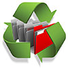 archiviazione digitale (recycle data folders, IT)