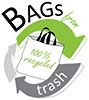 BAGS from 100% recycled trash (US)