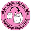 PUT ALL PLASTIC BAGS AND WRAP 