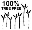 100% TREE FREE (bamboo paper, PurePlanet, AU)