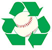 baseball recycling program
