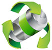 battery recycling (stock)
