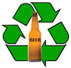 BEER bottles recycling