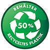 BEHALTER 50% [recycled] PLASTIK