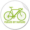 [bike] FUELED BY NATURE (sticker)
