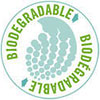 BIODEGRADABLE BIODÉGRADABLE (plastic)