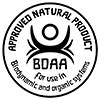 BDAA - APPROVED NATURAL PRODUCT for use 
