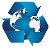 blue Earth recycling
