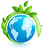 blue planet, green recycling