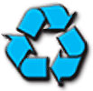 blue recycling