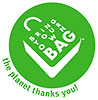 BRING YOUR OWN BAG (BYOB) - the planet thanks you!