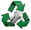 STEEL recycling (cans)