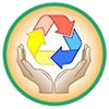 care of recycling (icon)