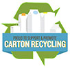 PROUD TO SUPPORT and PROMOTE CARTON RECYCLING