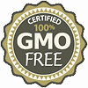 Certified 100% GMO FREE