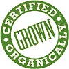 Certified grown organically