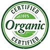 CERTIFIES Organic (clipart stamp)