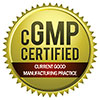 cGMP CERTIFIED (Edupliance, seal)