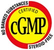 CERTIFIED cGMP: NO BANNED SUBSTANCES, STEROID FREE